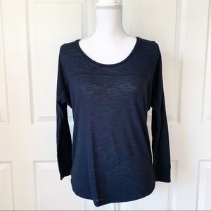 Cotton On Black Long Sleeve Top Size S
